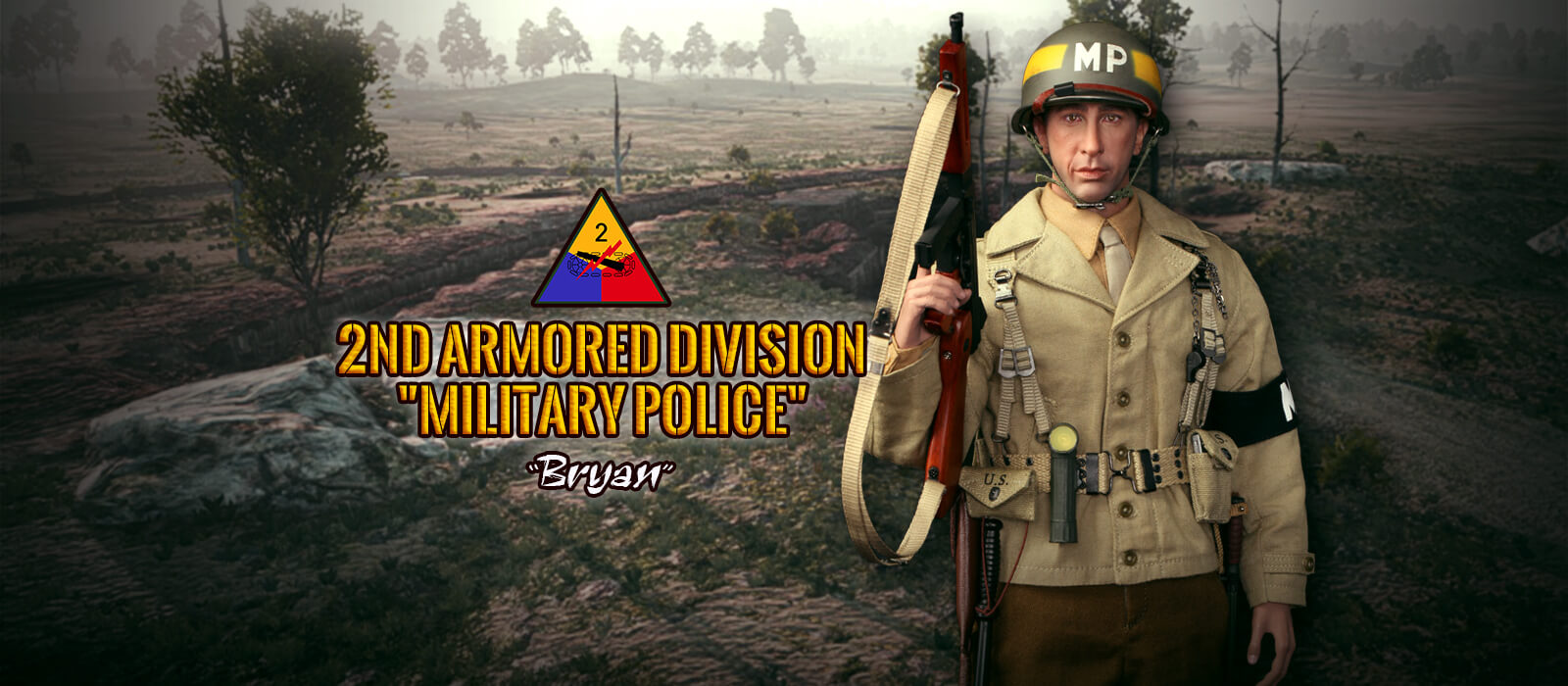 A80116 2ND ARMORED DIVISION MILITARY POLICE BRYAN
