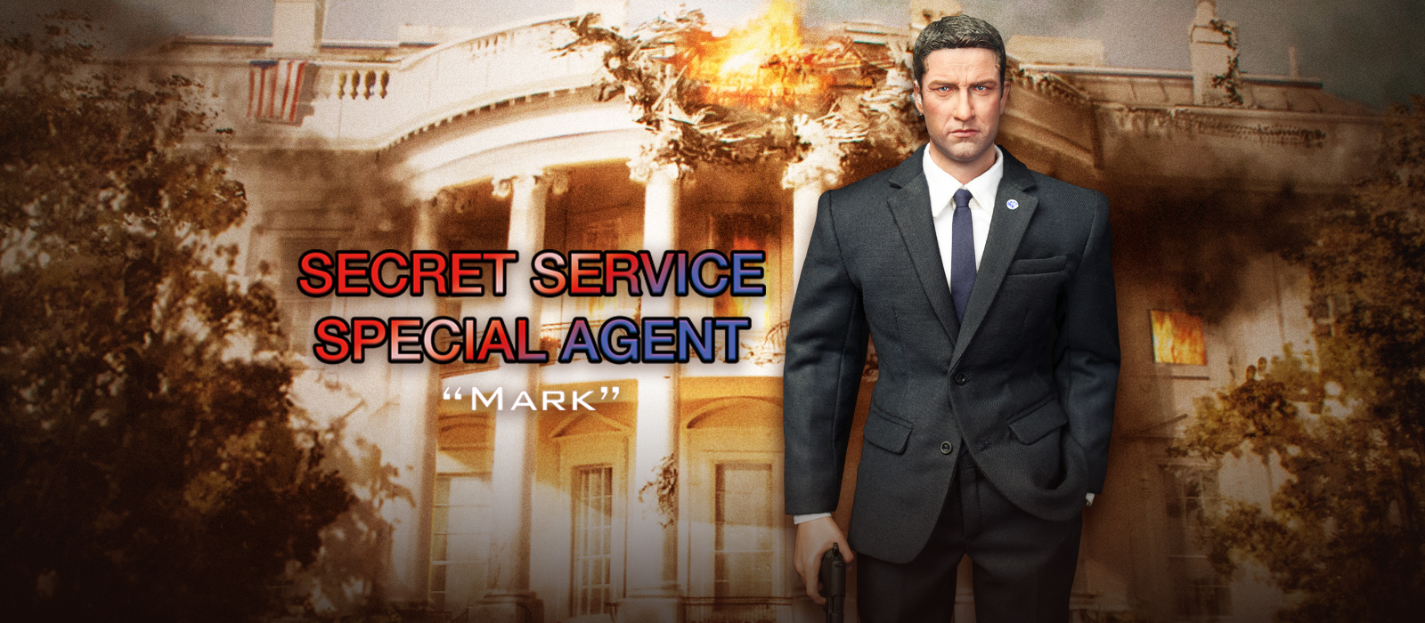 MA80119 US Secret Service Special Agent Mark