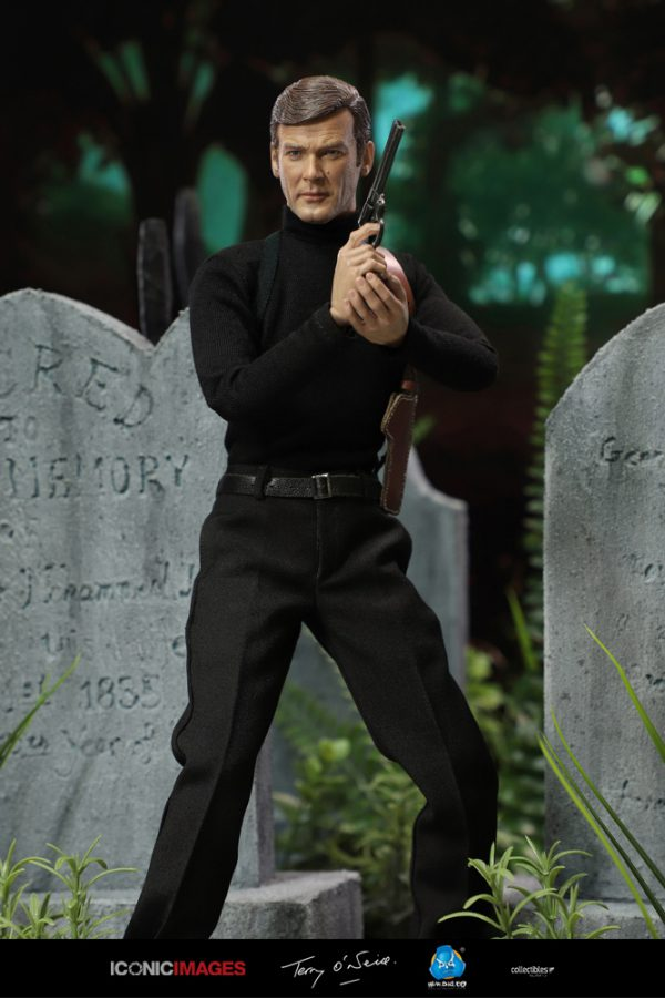 RM001 DID Roger Moore Officially Licensed Action Figure