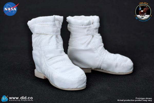 DID Apollo 11 astronauts Intravehicular boots