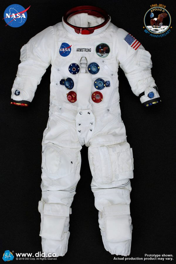 DID Apollo 11 astronauts armstrong spacesuit