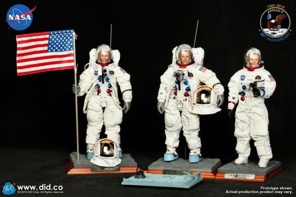DID Apollo 11 astronauts on the stands