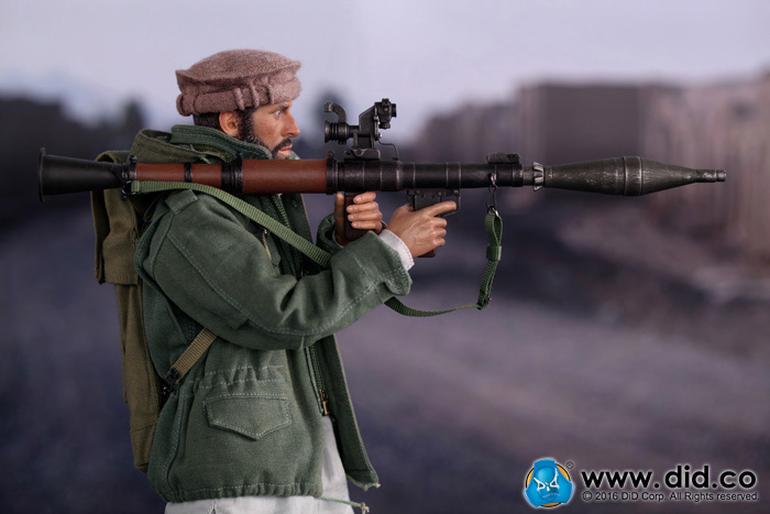 DID I80112 The Soviet Afghan War Afghanistan Civilian Fighter – Abbazz