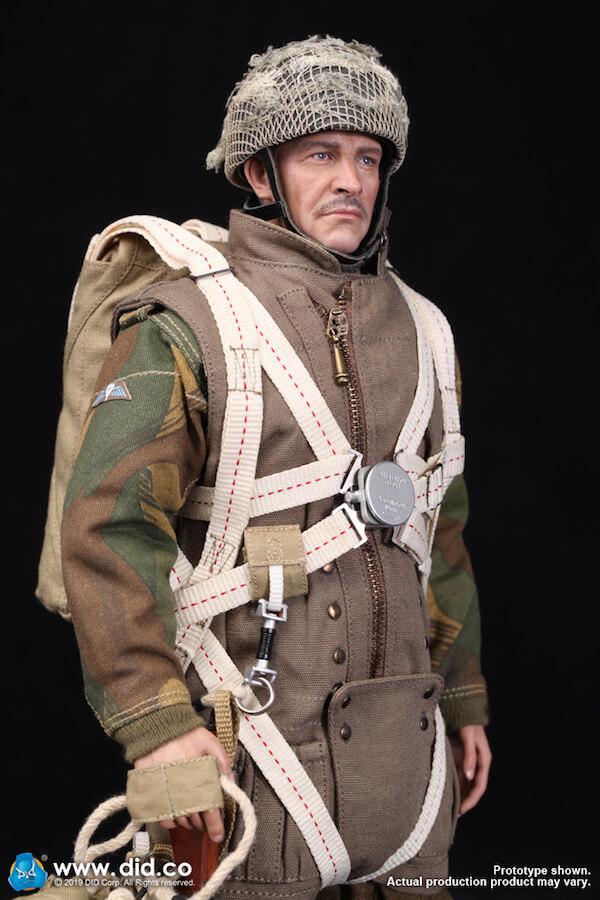 DID K80135 WWII British Airborne Red Devil Commander Roy