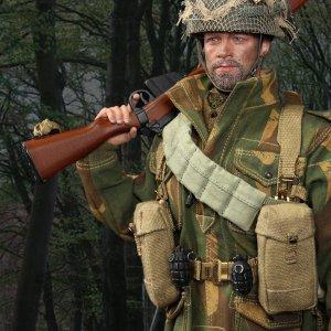 British 1st Airborne Division Red Devils Sergeant Charlie