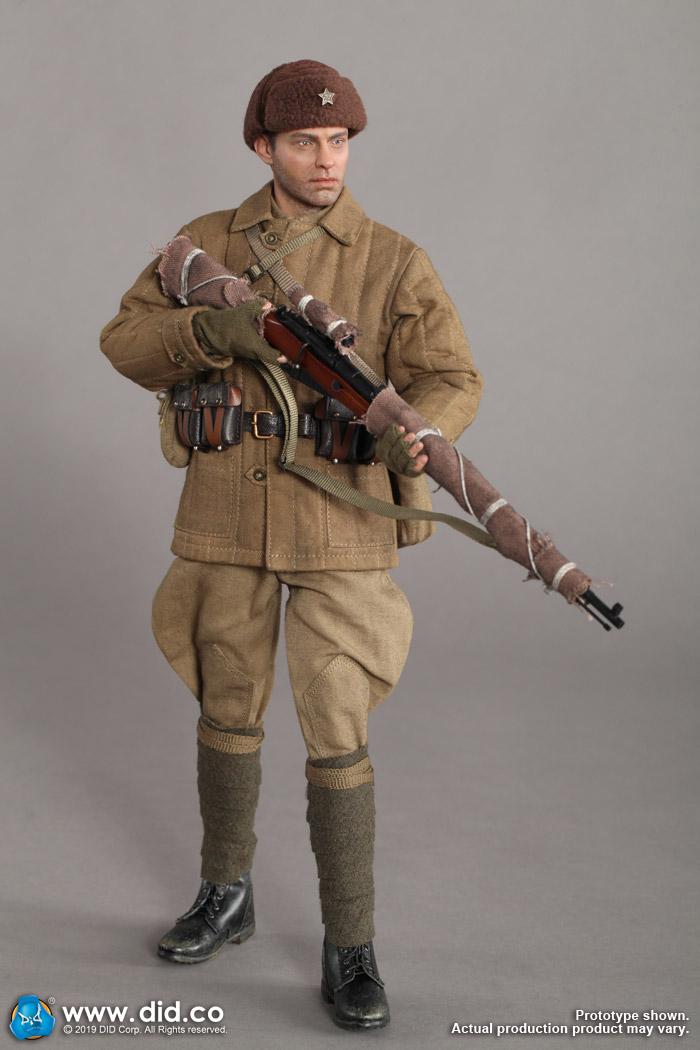 DID R80139B 1//6th WWII USSR Battle of Stalingrad 1942 Sniper Vasily Rifle Model