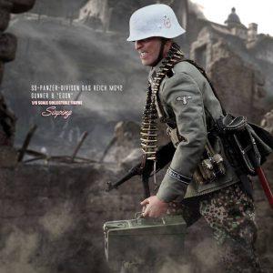 SS-Panzer-Divison Das Reich MG42 Gunner B Egon D80131