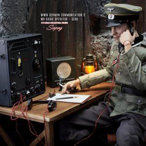 D80133 WH Radio Operator Gerd
