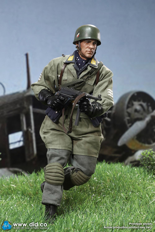 WWII German Fallschirmjager Max Schmeling action figure