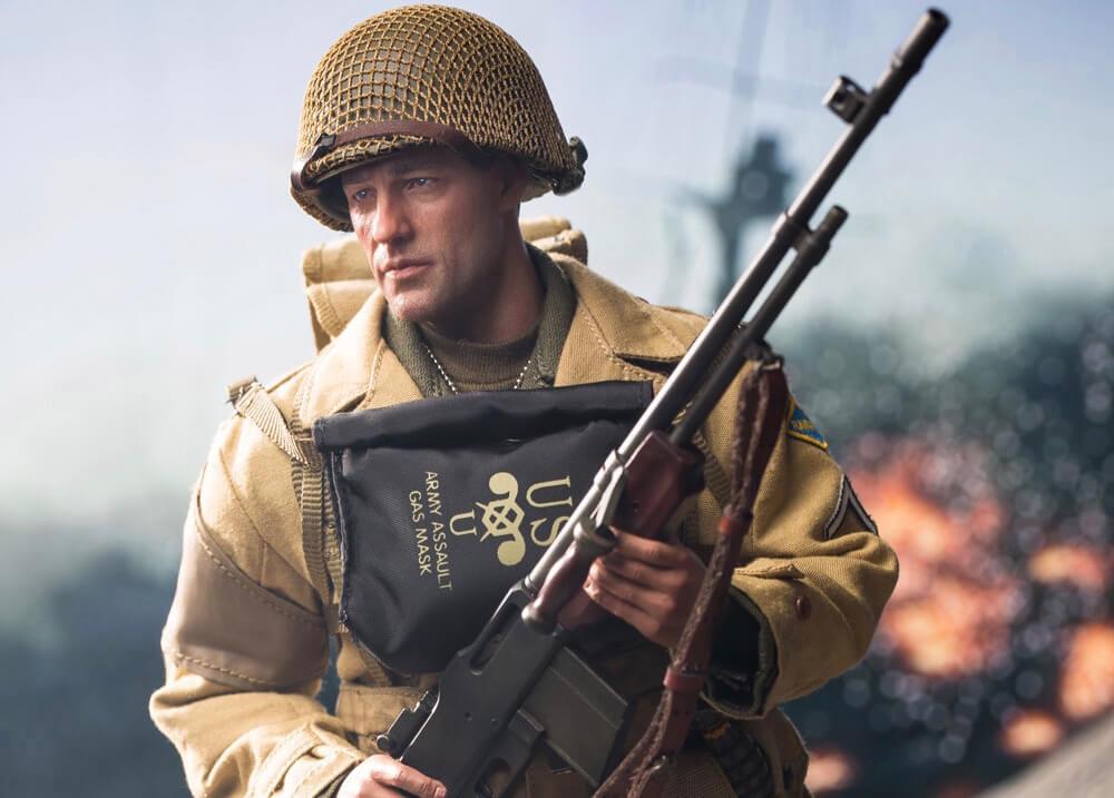A80141 WWII US 2nd Ranger Battalion Series 2 Private First Class Reiben