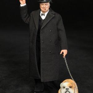 Winston Churchill onetwelfth wtih bulldog