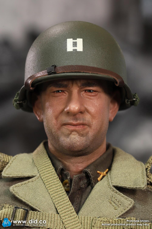 A80145 WWII US 2nd Ranger Battalion Series 3 Captain Miller headsculpt