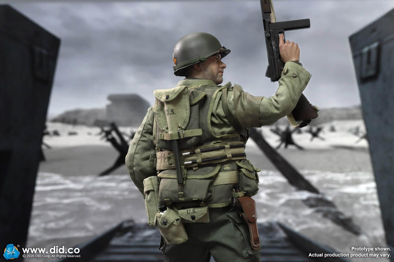 A80145 WWII US 2nd Ranger Battalion Series 3 Captain Miller