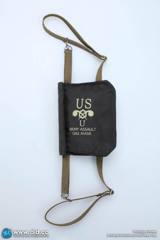 M7 assault gas mask bag
