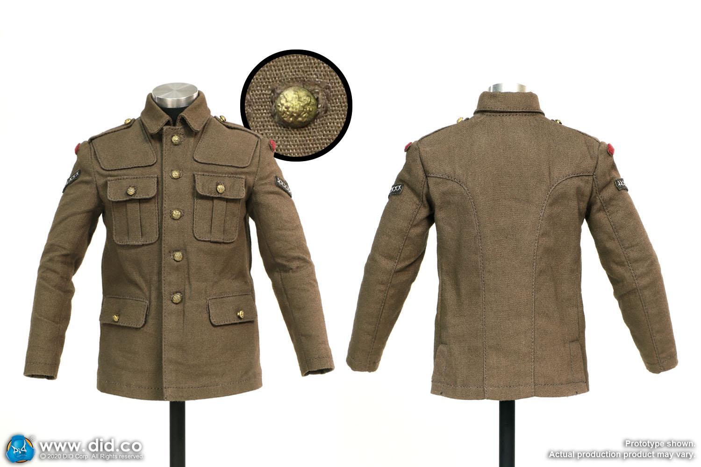 1/6 WW1 British army soldiers uniform