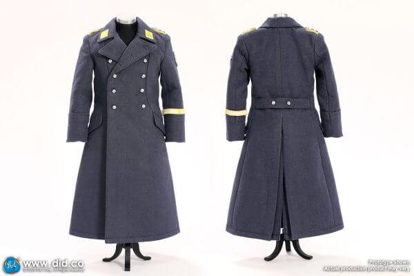 German Lufftwaffe blue-grey overcoat