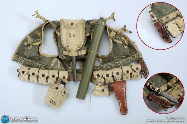 Ranger assault vest scope carrier M1910 Canteen cover