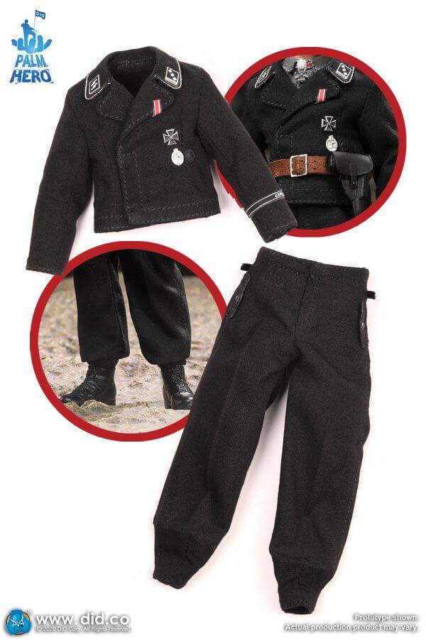 1:12 Michael Wittmann Black Panzer Uniform and pants