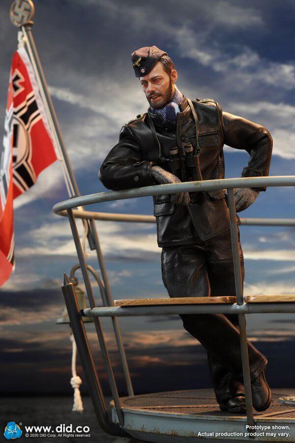 WWII German UBoat Stabsober Mechaniker Stabsbootsmann Johann