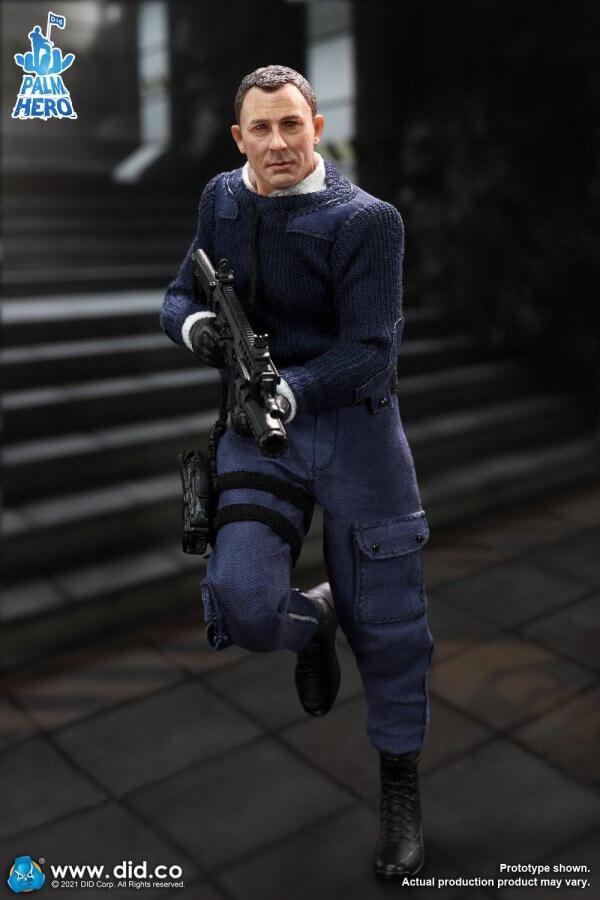 DID MI6 Agent Jack one twelfth scale XM80003