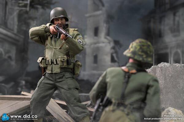 WWII US 2nd Ranger Battalion Sergeant Horvath