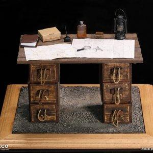 E60062 WW1 War Desk Diorama Set
