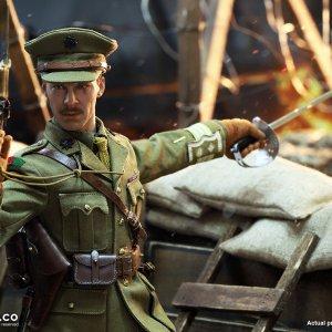 B11012 WW1 British Officer Colonel Mackenzie