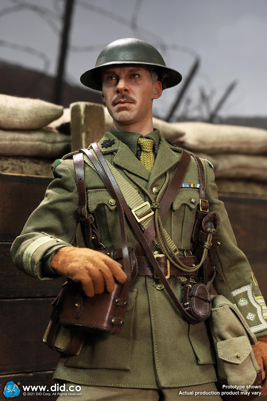 WW1British Officer - Colonel Mackenzie