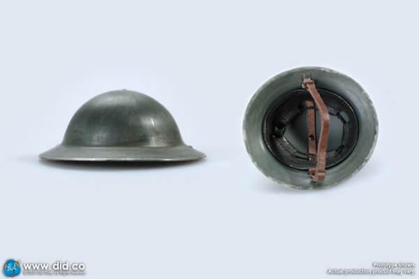 Brodie helmet with inner liner