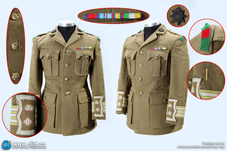 WW1 British officer uniform