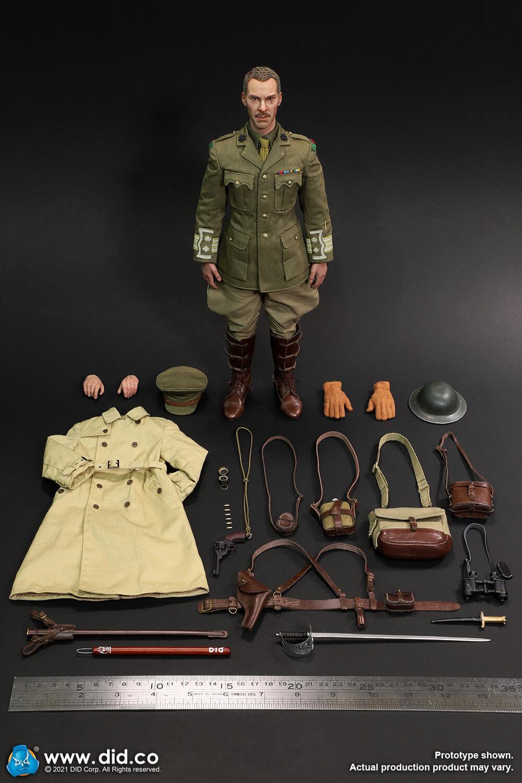 WW1British Officer - Colonel Mackenzie 66