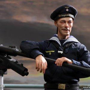 D80153 German Uboat Seaman Obermaat Erwin