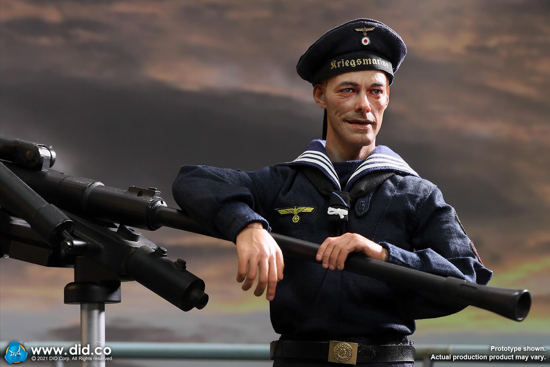WWII German U-boat Seaman Obermaat Erwin